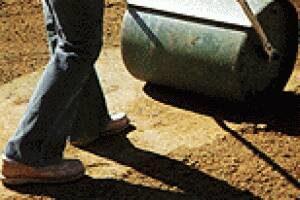 Roll Soil Sod Preparation